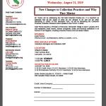 California credit union speaking flyer