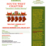 California credit union south west chapter flyer